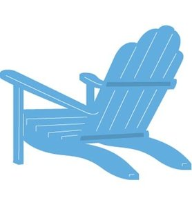 LR0424 Creatables snijmal Beach Chair