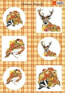 VK9545 Knipvel herfstdieren - hert Marianne Design
