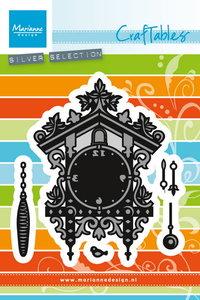 Craftables snijmal Marianne Design koekoeksklok CR1388