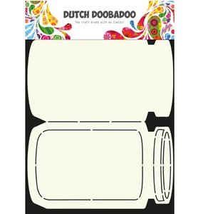 470.713.609 Dutch Doobadoo Card Art Cookie Jar