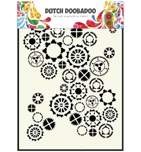 470.154.001 Dutch Doobadoo Mask Art Gears