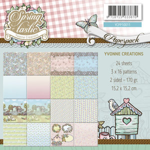 YCPP10011 Yvonne Creations Paperpack Spring-tastic