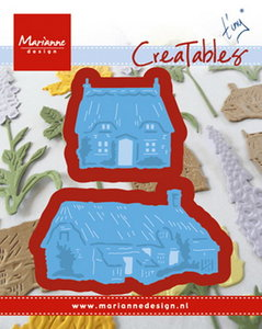 LR0453 Creatables snijmal Tiny's Cottages Marianne Design