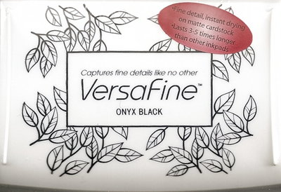 Versafine stempelinkt onyx black