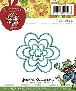 YCD10023 Snijmal Yvonne Creations Flower