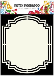 Dutch Doobadoo Dutch Shape Art frames label 2 A5  470.713.142