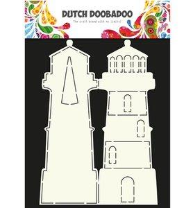 470.990.003 Dutch Doobadoo Card Art Lighthouse