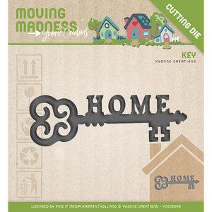 Snijmal Yvonne Creations - Moving Madness - Key YCD10099