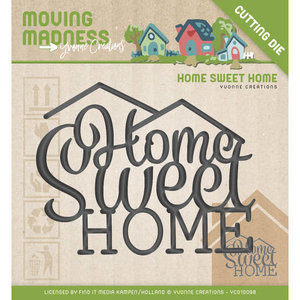 YCD10098 Snijmal Yvonne Creations Home Sweet Home Moving Madness