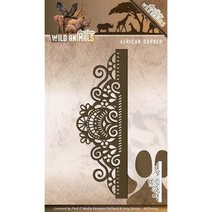 ADD10105 Snijmal African Border - Amy Design Wild Animals