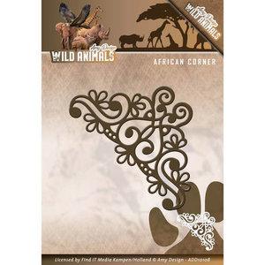 ADD10108 Die - Amy Design - Wild Animals - African Corner