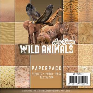 ADPP10017 Paperpack Amy Design Wild Animals