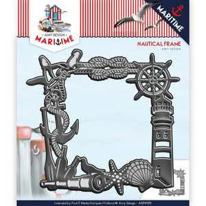 ADD10100 Snijmal Die - Amy Design - Maritime - Nautical Frame