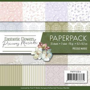 PMPP10014 Paperpack Precious Marieke Fantastic Flowers