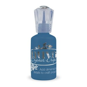 Nuvo crystal drops - midnight blue 664N
