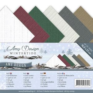 AD-A5-10009 Linnenkarton A5 Amy Design Wintertide