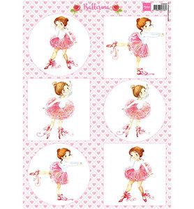 VK9558 Knipvel Marianne Design ballerina
