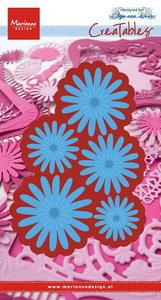 LR0472 Creatables snijmallen Anja's flower set
