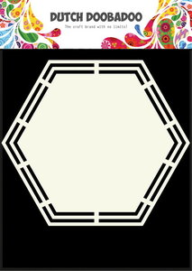 470.713.148 Dutch Doobadoo Shape Art Hexagon
