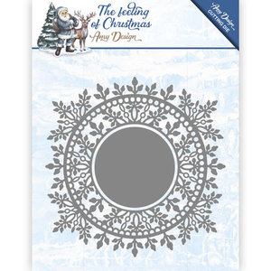 ADD10110 Die - Amy Design - The feeling of Christmas - Ice crystal circle