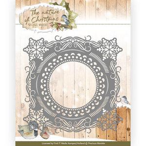 PM10097 Snijmal Precious Marieke - The nature of Christmas - Snowflake Frame
