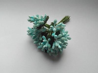 blauwe meeldraden