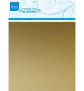 CA3134 Mirror paper gold Marianne Design