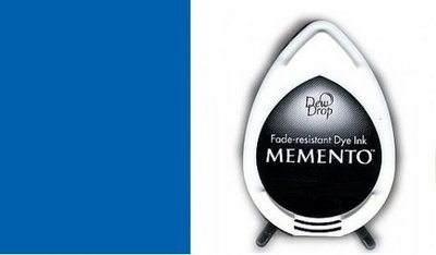 Memento Dew Drop inktkussen Danube Blue MD600