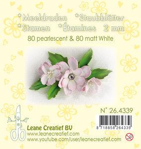 26.4339 Meeldraden- pearl White