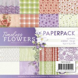 Paperpack Precious Marieke Timeless Flowers PMPP10018