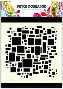 470.715.609  Dutch Doobadoo Dutch Mask Art 15x15cm blokken