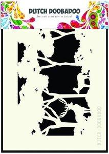 470.715.402 Dutch Doobadoo Dutch Mask Art bos A6