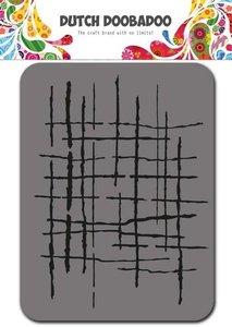Dutch Doobadoo Foam stamps stripes 494.902.001