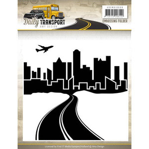 Embossingfolder - Amy Design - Daily Transport ADEMB10009