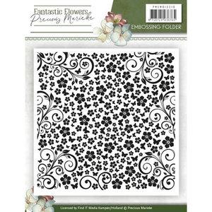 PMEM10010 Embossing Folder - Precious Marieke - Fantastic Flowers