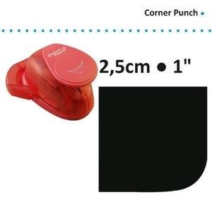 Hoekpons 2,5 cm