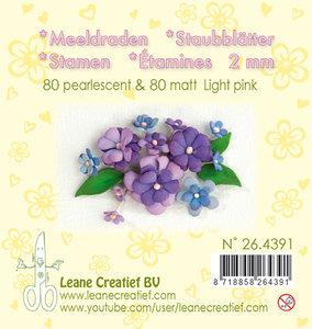 26.4391 Meeldraden - Light pink