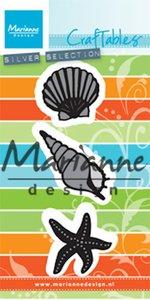 CR1440 Craftables snijmallen Sea Shells
