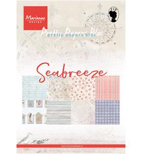 PK9156 Pretty Papers Bloc Seabreeze