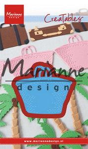 LR0543 Creatables snijmal beach bag