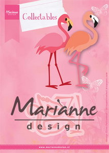 COL1456 Collectables snjimallen Eline's flamingo