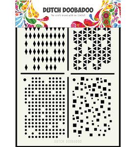 470.715.129 Dutch Doobadoo Mask Art Multistencil