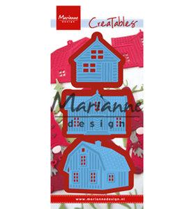 LR0555-2 Creatables snijmallen Scandinavian houses