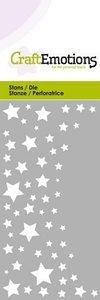 115633-0218 CraftEmotions Die - sterrenhemel Card 5x10cm