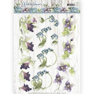 CD11188 3D knipvel - Precious Marieke - Winter Flowers - Orchids