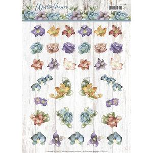 CD11198 3D knipvel - Precious Marieke - Winter Flowers - Mini