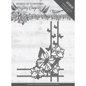 ADD10156 Dies - Amy Design - Words of Sympathy - Sympathy Corner