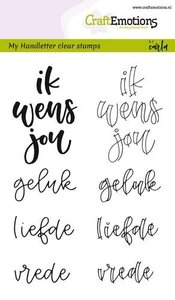 130501-1829 CraftEmotions clearstamps A6 - handletter - ik wens jou geluk..(NL)