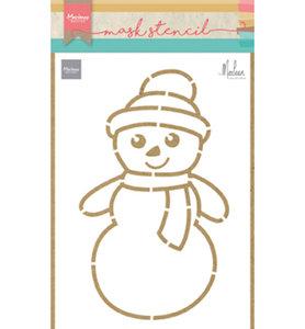 PS8018 Craft stencils Snowman by Marleen