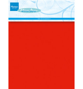 CA3137  Mirror paper Christmas Red